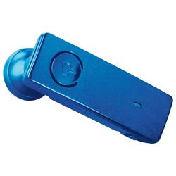 Hama Hama Bluetooth In-Ear Headset MyVoice 500 Kopfhörer Ohr-Bügel Mikrofon BT 3.0 Bluetooth-Kopfhörer (Bluetooth, Farbe Blau)