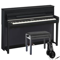 Yamaha Clavinova CLP-685 Digitalpiano Schwarz Set
