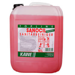KAWE Sanocil Sanitär-Unterhaltsreiniger, Sanitär - Unterhaltsreiniger, 10 l - Kanister
