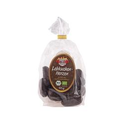 Bio-Lebkuchenherzen, gefüllt, 125 g