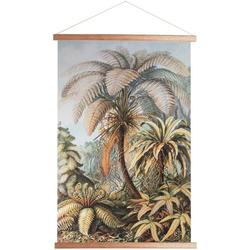 Art for the home Poster Dschungel, Pflanzen, 100x70cm, Poster, Wandbild, Bild, Wandposter