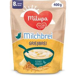 Milupa Milchbrei Grießbrei miluvit >>mit<< Kleine Genießer 400 g ab dem 8. Monat