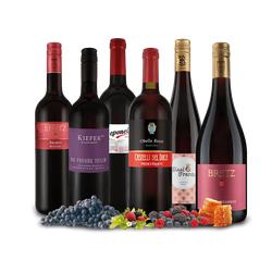 Probierpaket Unsere besten lieblich-süßen Rotweine