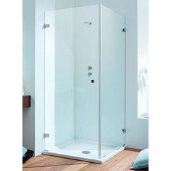 Sprinz BS-Dusche Eck-Duschkabine mit Duschtür und Seitenwand