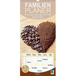 Kaffee: Genuss aus der Bohne (Wandkalender 2021 , 21 cm x 45 cm, hoch)