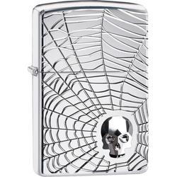Zippo Spiderweb Skull 60004904