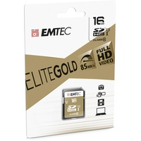 Emtec SDHC Gold+ 16GB Class 10