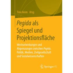 Pegida als Spiegel und Projektionsfläche als Buch von