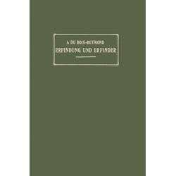 Erfindung und Erfinder als Buch von A. Du Bois-Reymond