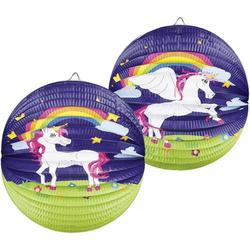Unicorn Laterne (Ø) 25cm