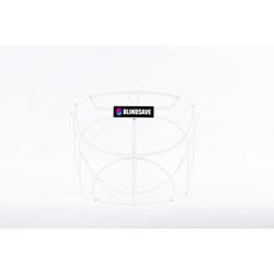 BlindSave Cat-eye grill IFF S - XL, Weiß