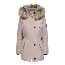 ONLY Langer Parka Damen Pink Female L