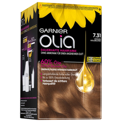 Garnier Nr. 7.31 - Kühles Goldblond Haarfarbe