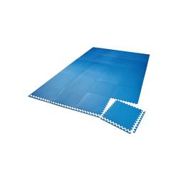 tectake Bodenschutzmatte Bodenschutzmatte 24-tlg., 24-St.