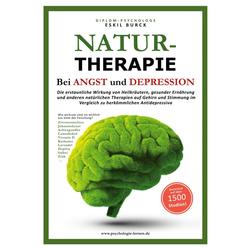 NATURTHERAPIE BEI ANGST UND DEPRESSION: Buch von Eskil Burck