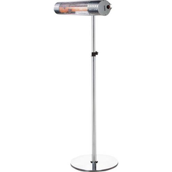 DOMO DO7342TV Terrassen-Strahler 2000W Silber