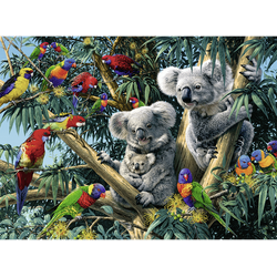 RAVENSBURGER Koalas im Baum Puzzle Mehrfarbig