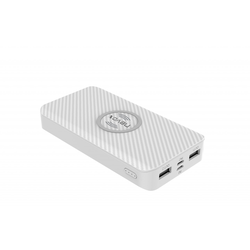 Nevox Wireless POWERBANK 10000mAh weiss (PB-1641) NEU & OVP