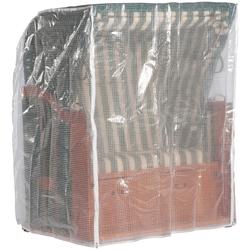Sonnen Partner Strandkorb-Schutzhülle, für Strandkörbe, BxLxH: 155x105x160 cm, anthrazit grau Gartenmöbel-Schutzhüllen Gartenmöbel Gartendeko Strandkorb-Schutzhülle