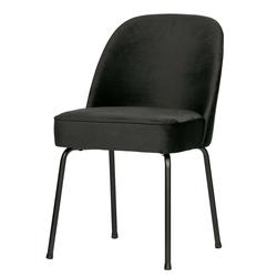 Esstisch Stühle in Schwarz Samt 50 cm Sitzhöhe (2er Set)