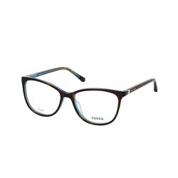 Fossil FOS 7071 YAP, inkl. Gläser, Cat Eye Brille, Damen