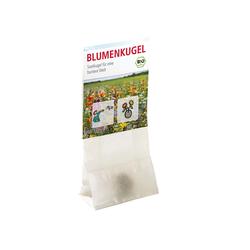 Bio-Blumensaatkugel