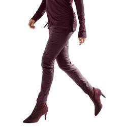 Amy Vermont 5-Pocket-Hose mit Beschichtung rot 36