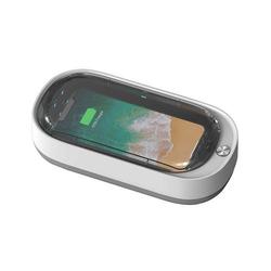 UV-Sterilisator zur Desinfektion von Smartphones UV Licht Desinfektionsgerät Aromatherapie Funktionsdesinfektor weiß