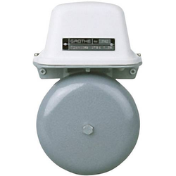 Grothe 22514 Klingel 42V (max) 105 dBA Grau, Weiß