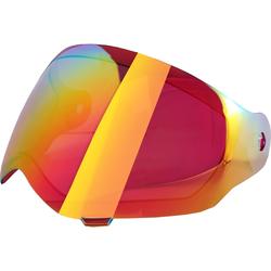 Broken Head Visier ROT verspiegelt für Enduro VX2 | Jack.S VX2 | Fullgas Viki...