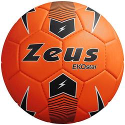 Zeus Ekostar Fußball Neon Orange - Größe:5
