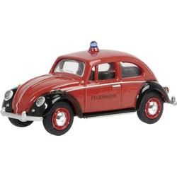 Schuco VW Käfer Feuerwehr 1:64 Modellauto
