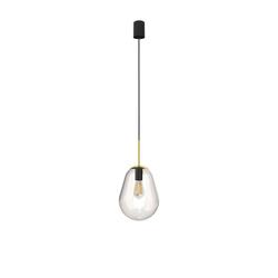 Licht-Erlebnisse Pendelleuchte MORNA, Glas Hängelampe E27 Küche Esstisch Hängelampe bunt