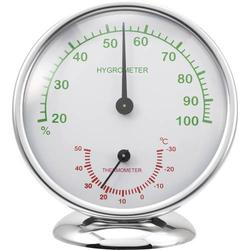 Renkforce 6510 Alu Thermo-/Hygrometer Aluminium
