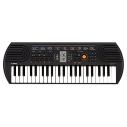 CASIO Keyboard SA77, Mini-Keyboard mit praktischem LC-Display