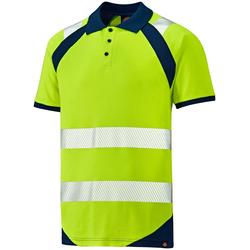 Dickies Warnschutz-Shirt Hi-Vis Polo-Shirt gelb 4XL
