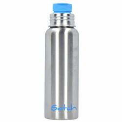 Satch Zubehör Trinkflasche 0,75 Liter 24 cm silber blau