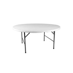 VCM Gartentisch Partytisch rund klappbar Partytisch rund klappbar