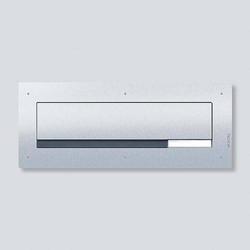 Siedle 210007719-00 F CL BD3 01 Durchwurfbriefkastensystem Stahl nicht rostend Silber