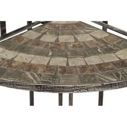 SIENA GARDEN Eckregal Felina 140cm Eisen mit Mosaikoptik