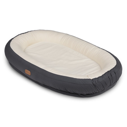 VOKSI® BABYNEST CARE (2 Farben) Solid Dark Grey