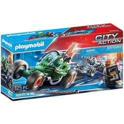 Playmobil® Spielwelt PLAYMOBIL® 70577 - City Action - Polizei-Kart: Verfolgung des Tresorräubers