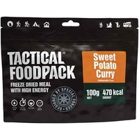 Tactical Foodpack Freeze Dried Mahlzeit 100g Süßkartoffel Curry