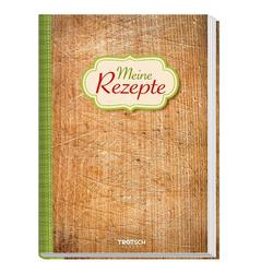 Rezeptbuch Meine Rezepte Holz als Buch von