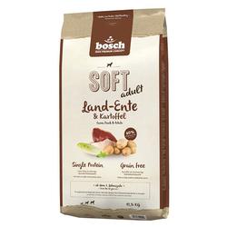 (4,99 EUR/kg) Bosch SOFT mit Land-Ente & Kartoffeln 12,5 kg