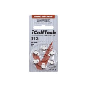 iCellTech ICT 312 Hörgerätebatterien