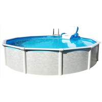"Steinbach Stahlwand Swimming Pool Set ""Grande rund"",,457 x 135 cm"