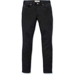 Carhartt Rugged Flex Slim-Fit Layton Skinny Ladies Pants, black, Größe 44 45 für Frauen