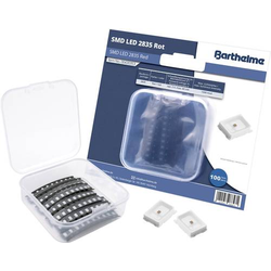 Barthelme SMD-LED-Set 2835 Rot 600 mcd 120° 60mA 2V 100 St. Bulk