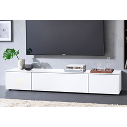 SPECTRAL Lowboard Select, wahlweise mit TV-Halterung, Breite 180 cm weiß